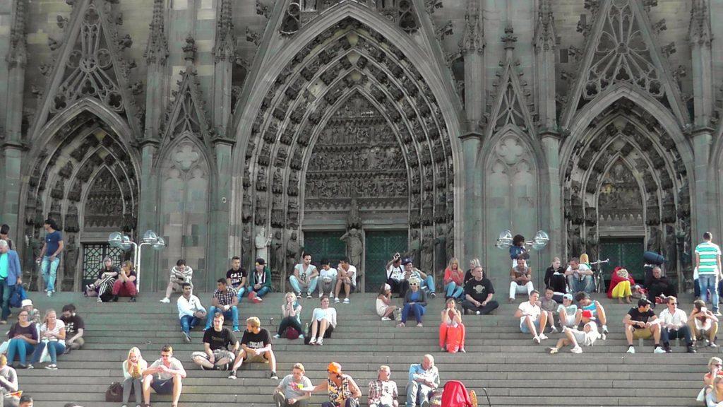 Kölner Domtreppe