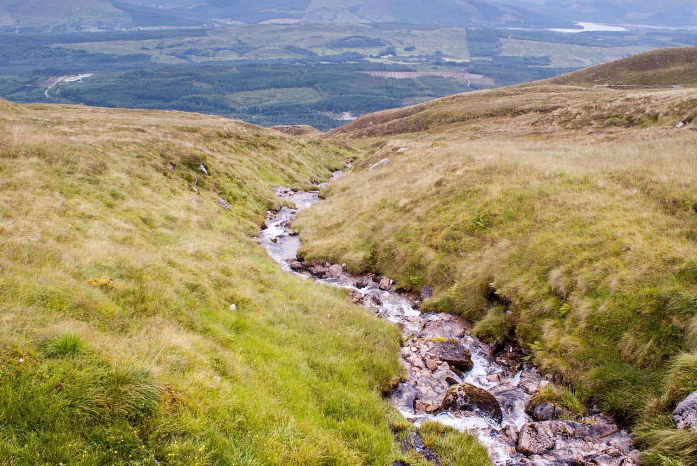 Ben nevis, größter Berg Schottlands