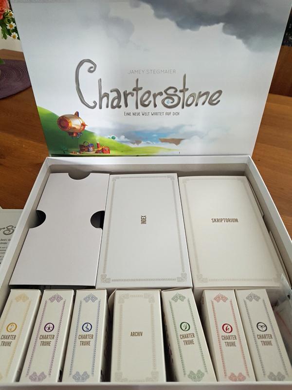 Ein Bild der Spielbox von Charterstone